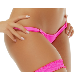 Brasilslip mit Regulation Neonpink XS-S